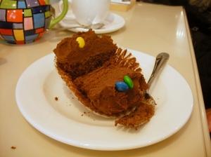 M&M Cupcake