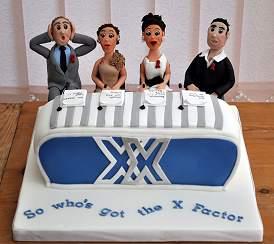 X Factor Cake