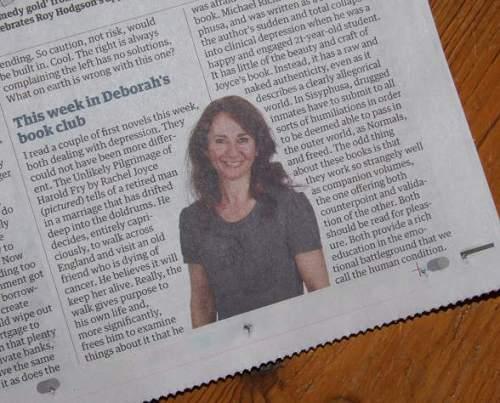 Rachel Joyce Review in the Guardian