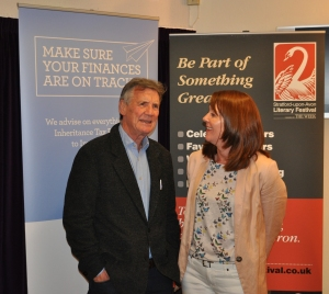 Me and Michael Palin