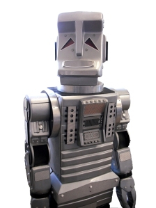 Marvin - the proper one from the TV series.