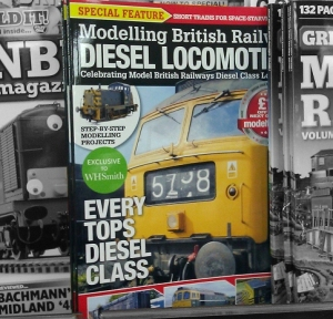 Modelling British Railway Diesel Locomotives on the shelves in WH Smith