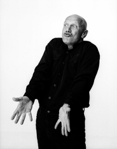 Steven Berkoff - Click on the image to visit his website stevenberkoff.com