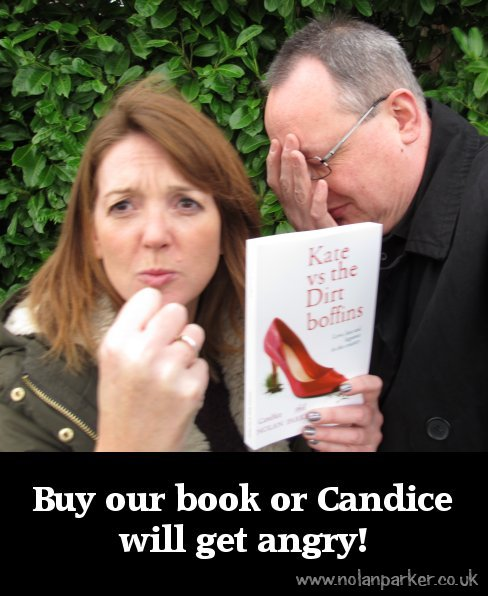 Buy our book, or Candice will get angry!