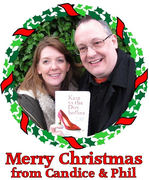 Merry Christmas from Candice and Phil