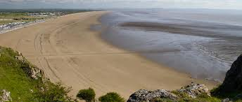 Beautiful beaches local to Brean Sands in sunny Somerset.