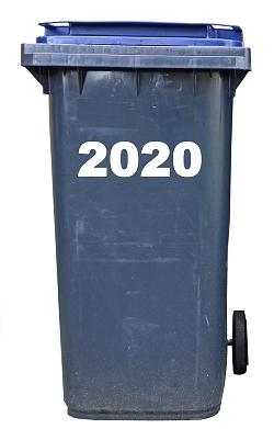 2020 in the bin